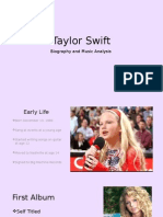 rachel kelsch final semester project- taylor swift
