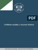 I.a. Conflictos Por Recursos Hidricos