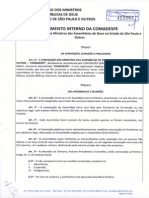 Regimento Interno Da COMADESPE Atualizado Em 21-07-2013