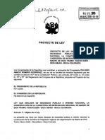 Proyecto de ley 2320/2012-CR