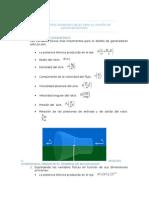 Parámetros Adimensionales Para El Diseño de Aerogneradores