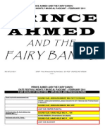 2011 SCRIPT - Prince Ahmed and the Fairy Perie Banou - 2011 RCDF - Original Cast Version (Ver 2)