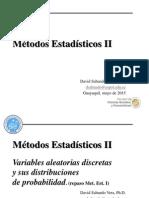 1 Repaso. Variable Aleatoria Discreta y Su Distribucion