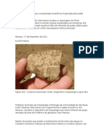 A Arqueologia no Amazonas