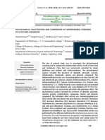 PHYTOCHEMICAL INVESTIGATION AND COMPARISON OF ANTIMICROBIAL SCREENING OF CLOVE AND CARDAMOM