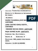 Reporte de Medidor de Ondas Electromagneticas