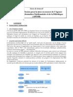 éléments de réflexion pour la mise en oeuvre de l'Agence Française de l'Information Multimodale et de la Billettique