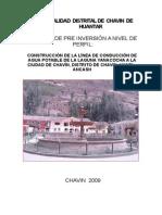 Municipalidad Distrital de Chavin de Huantar