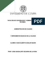 7 HERRAMIENTAS BASICAS DE LA CALIDAD