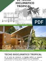 La Creatividad en El Techo Bioclimatico Tropical