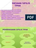 PEMERIKSAAN SIFILIS TPHA