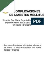 Complicaciones de Diabetes