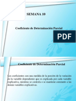 Coeficiente de Determinacion Parcial