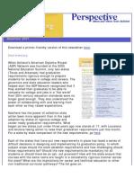 Achieve's December 2007 Newsletter