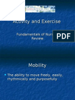 NurseReview.Org - Activity and Exercise