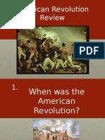american revolution lesson