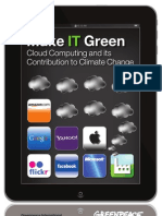 Make IT Green - Cloud Computing and its Contribution to Climate Change