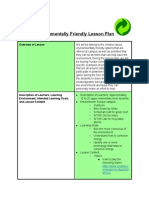 environmentalfriendlylessonplan  1