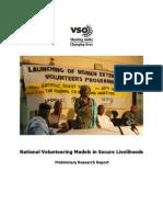 National Volunteering Programme