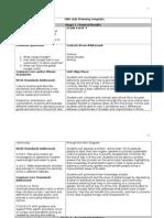 integrated unit ubd plan