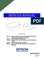 Manual Epson TX 121