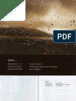 Booklet - Sibelius/Mazeel