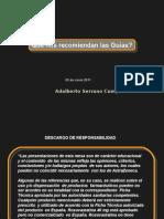 Recomendacion Quias Dr Serrano