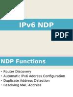 IPv6 NDP