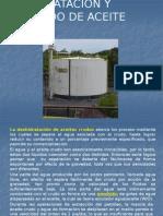 Deshidratacion y Desalado de petroleo