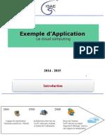 Exemple App Cloud