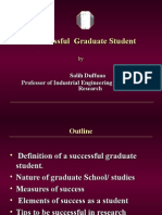 A Successful Graduate Student