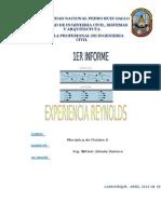 INFORME 1 -REYNOLDS2014