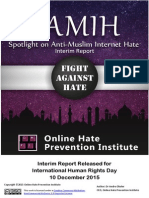 Anti-Muslim Hate Online Interim Report