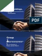 Case Presentation of SM corporation by Henry Sy