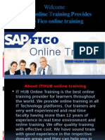 Best Sap FICO online training in Usa, Uk, Singapores, Canada, India