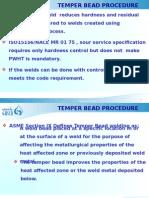 Temper Bead Procedure