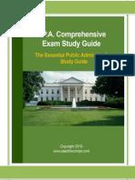 MPA Comps Study Guide