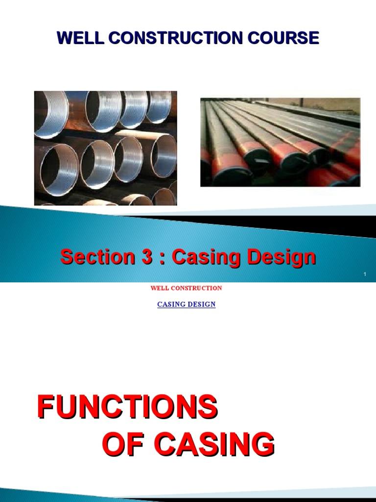 casing design ppt