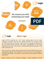 Logic Gives Premium Wholesale Solutions in Internet and Telecommunication in and Around Cayman