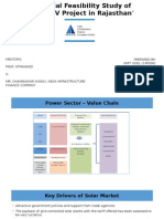 Financial Feasibility Study of 'Solar PV Project(2)