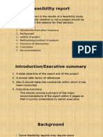 Feasibility Report Parts and Function
