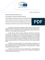 Letter From MEPs in Support of Visa Liberalisation for Ukraine and Georgia_03.12.2015