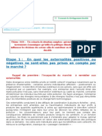 Thème 3122 Un Scénario de Situation Complexe Pour Comprendre Les Politiques Publiques Qui Peuvent Influencer Les Entreprises Pour Contribuer Au Développement Durable