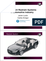 sistemas de retencion automobil