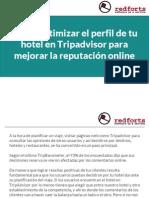 Cómo optimizar el perfil de tu hotel en Tripadvisor para mejorar la reputación online