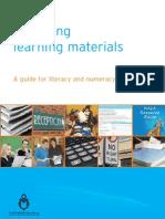 Preparing Learning Materials