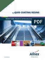 Allnex Liquid Coating Resins Product Guide - LRA1006-En-AM-0314