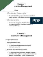 Information Management-Unit-1