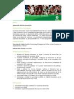 TDR-Responsable de Acción Humanitaria