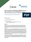 UPDATED Optimizing SQL Server for Temenos T24